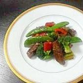ご飯がすすむ!!ステーキと野菜のこってり炒め