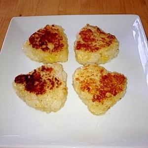 ☆トロ~リチーズの焼きおにぎり☆