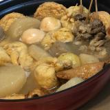 鶏ガラから本格的におでん関西風☆オイスターソース入