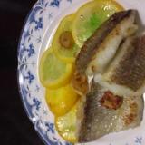 初夏の味鯛ソテー