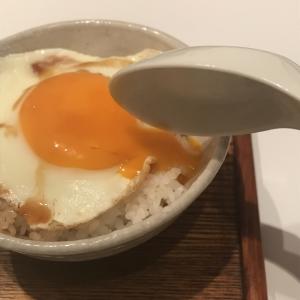 半熟目玉焼き丼