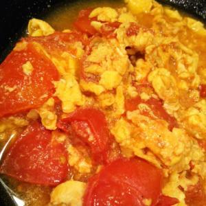 卵とトマトのオイスターソース炒め 簡単