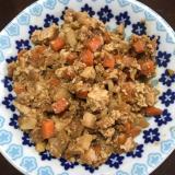 肉なし☆豆腐ジャージャー麺☆ 豆腐肉味噌