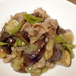 ご飯がすすむ☆豚肉となすの中華炒め