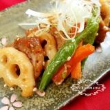 豚ヒレ肉と根菜の甘酢和え
