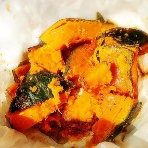 かぼちゃの焦がしバターチーズ焼き