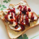簡単美味しい♡ちくわパン♡クリームチーズ*白菜漬物