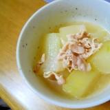 圧力鍋で♪ ウェイロンで簡単味付け 冬瓜の煮物