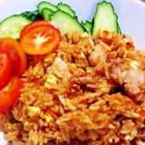 インドネシアの味 ポークナシゴレン