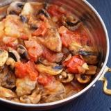 トルコ料理★マッシュルームの炒め煮
