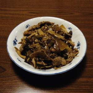 豚のソース生姜焼き
