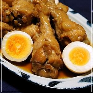 黒酢消費メニュー@手羽元のはちみつ黒酢煮