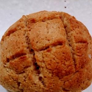 【糖質制限】BPで作る簡単メロンパン風
