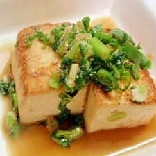☆麺つゆで簡単豆腐ステーキ☆
