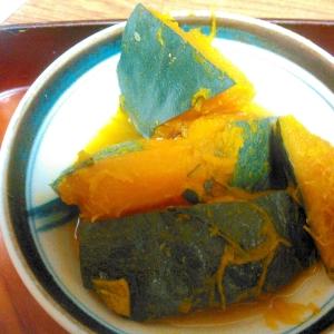 かぼちゃのたまりつゆ&醤油煮