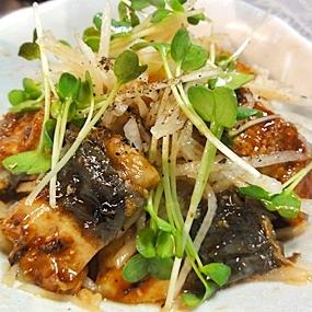 鰻大根サラダ