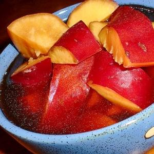 夏の食欲減退に さつま芋の甘煮