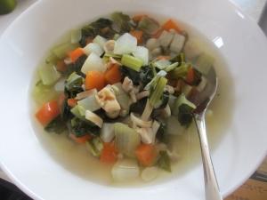 ころころ野菜の具沢山スープ