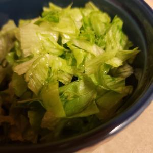 レタスのさっぱりマリネ風サラダ