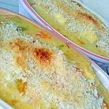 南瓜と高野豆腐の長芋グラタン