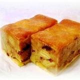 あの菓子パンをもう一度♪アップルラムケーキ