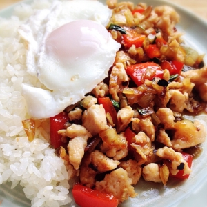 タイ料理☆本格ガパオライス