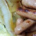 ポークビッツのマヨネーズ焼き