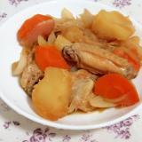 簡単作りおき!手羽中と野菜の照り煮