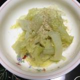 白菜の白だし煮物