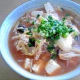 ヘルシーに☆甘辛春雨スープ