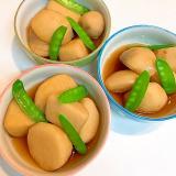 じっくり煮込んで☆里芋と絹さやの煮物