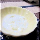 離乳食 ★ 初期 ★ 豆腐のすり流し