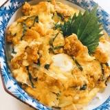 うにの卵とじ丼