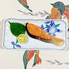 紅鮭のココナッツオイル炒め