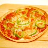 トルティーヤの皮で、簡単ピザ♪