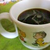 甘味は黒蜜♪な大人コーヒー