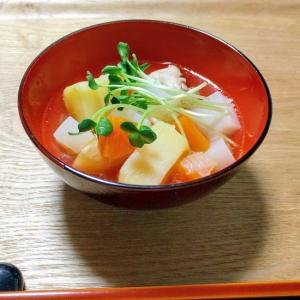 簡単!ゴロゴロ野菜の豚汁