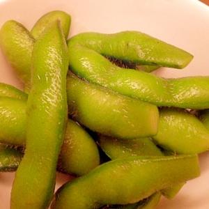 冷凍を美味しく♪枝豆の昆布つゆ漬け