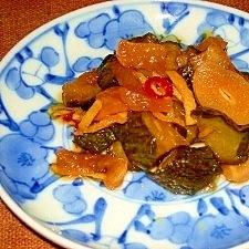 煮ます!Qちゃんぽい胡瓜と大根の甘め醤油漬け