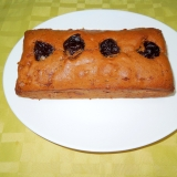 是非食べて☆プルーンとバナナのパウンドケーキ