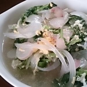こかぶ&玉ねぎのスープ