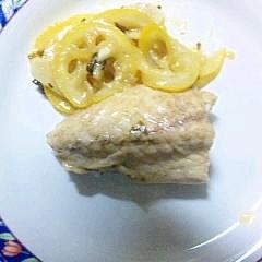 料理下手が作る 鯖レモン焼き