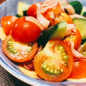 さっぱり美味しい♡ミニトマトときゅうりのマリネ
