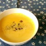 レンジで簡単かぼちゃスープ