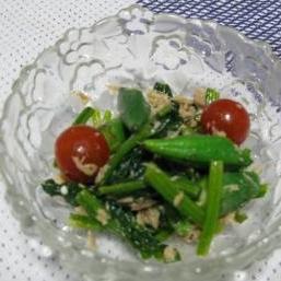 ほうれん草とツナのおかずサラダ