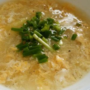 ふわふわたまごスープ