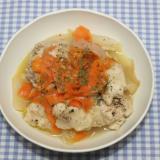 NHK☆きょうの料理☆切り干し人参と鶏肉の蒸し煮