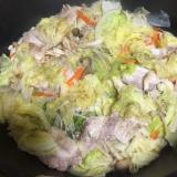 超〜手抜 白菜とキノコの蒸し焼き