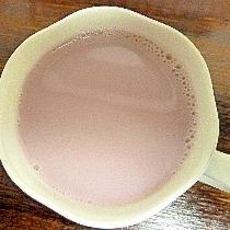 ヘルシー♪ホット紫の野菜ミルク酒