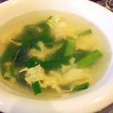 3分で!☆簡単!基本のにら玉スープ